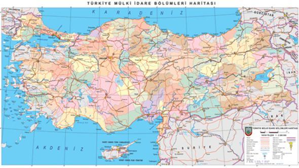Harita Harita ölçekleri Harita çeşitleri Projeksiyon Ve Izdüşüm