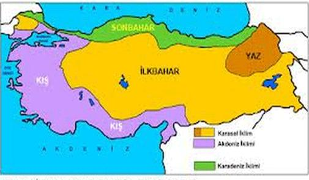 Iklim Türkiyenin Iklim özellikleri Coğrafya Konu Anlatimi