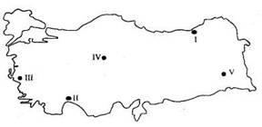 Türkiyenin Iklimi Ile Ilgili Test Sorulari Coğrafya Dersi Ile